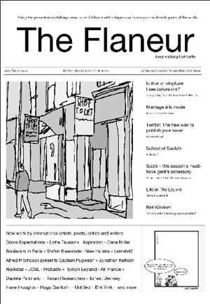 Check out The Flaneur online!