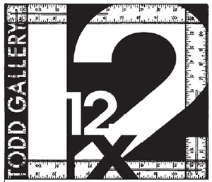 Check out the 12x12x12 Call for Entries at the Todd Gallery!