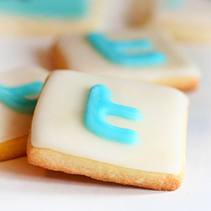 Check out these twitter cookies from I am Baker!