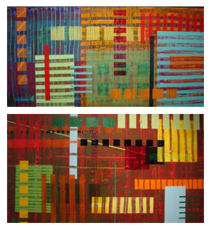 Gridlocked Series 10 and 16 by Deanna Bowdish
