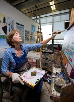 Learn more about the Visiting Artist Program at the Torpedo Factory Art Center!