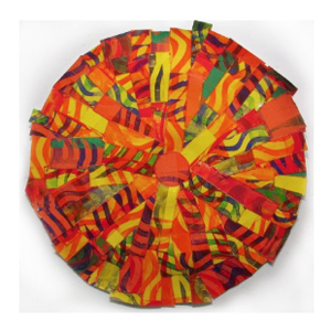 Painted Quilt Circle 1 by Deanna Bowdish