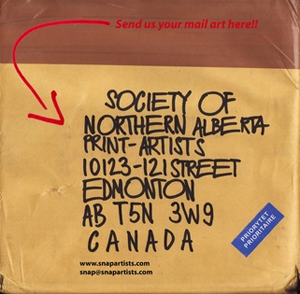 Learn more about the SNAP Mail Art Show!