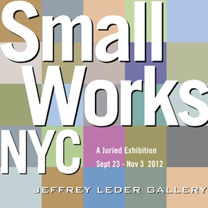 Learn more about the Small Works NYC show!