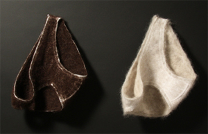 Hair Underwear by Featured Artist Stephanie Metz!