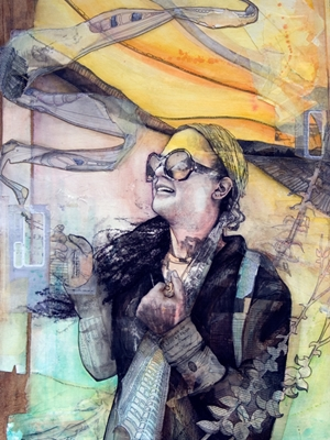 Mixed Media by 2013 Featured Artist of the Year Stephanie Mead!