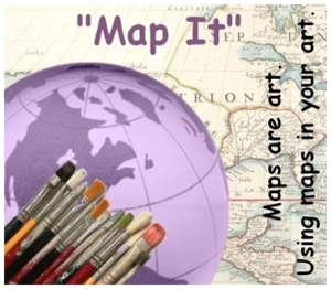 Learn more about the Map It Exhibit from the Riverside Arts Center!