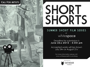 Learn more about the Summer Shorts Call from Whitespace!