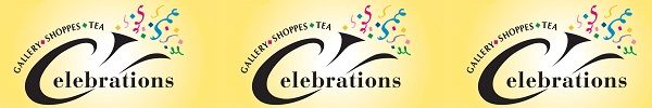 Learn more from Celebrations Gallery and Shoppes!