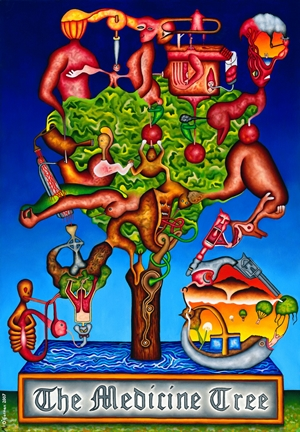 The Medicine Tree by Featured Artist Michael O'Gorman!