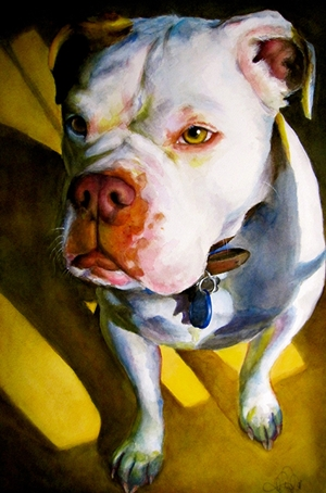 Check out this winner from the previous Paintings of Pets competition!