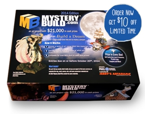 Learn more about Mystery Build 2014!