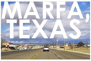 Learn more about the Biennial Roadshow in Marfa Texas in 2014!