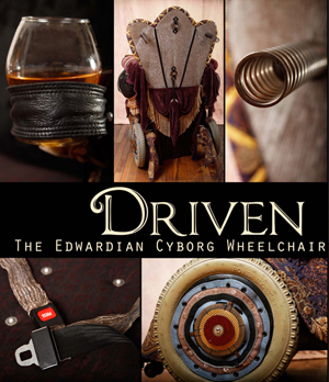 Driven DETAIL by Featured Artist A Laura Brody - photo courtesy of Heidi Marie Photography