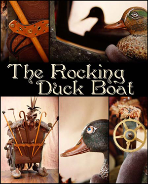 Rocking Duck Boat by Featured Artist A Laura Brody and Alan deForest - photo courtesy of Heidi Marie Photography