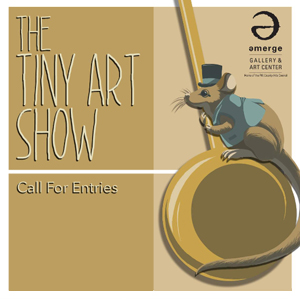 Learn more about The Tiny Art Show!