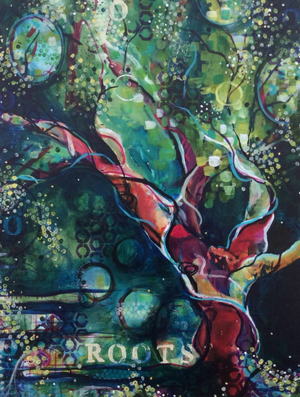 Roots by Featured Artist Painter Emily Mitchell!