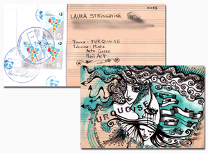 Learn more about the Turquoise Mail Art Call!