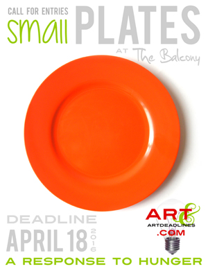 Enter the Small Plates Exhibit at The Balcony in Knoxville, TN sponsored by AAAD!