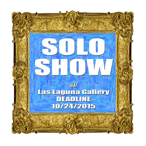 Learn more about the Solo Show opportunity from the Las Laguna Gallery!