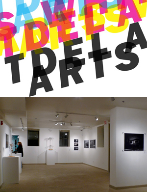 Learn more about the Just My Type exhibit from the Whitdel Arts Gallery!