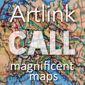 Learn more about the Magnificent Maps exhibit from Artlink!