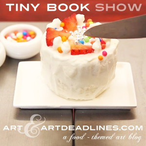 Learn more about the Tiny Book Show from Food for the Soul Train!