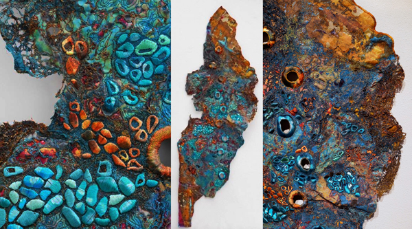 Learn more about the fibre art of AAAD's Artist of the Day Sue Hotchkis!