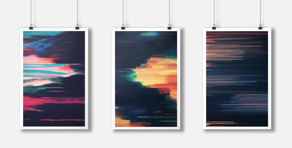 from the Glitched series by Adam Flynn