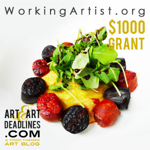 Learn more about the artist grant available from workingartist.org!