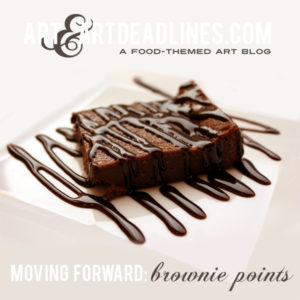 Learn more about opportunites to Move Forward and earning Brownie Points at AAAD - ArtandArtDeadlines.com!
