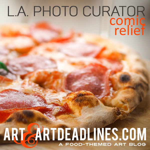 Learn more about the Comic Relief exhibit from the LA Photo Curator!