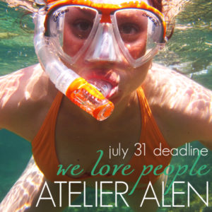Learn more about the We Love People exhibit from Atelier Alen!