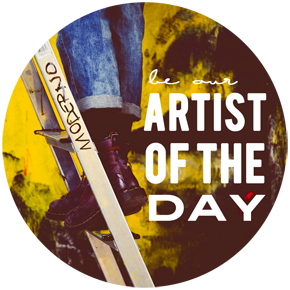 Be the next AAAD ARTIST of the DAY!