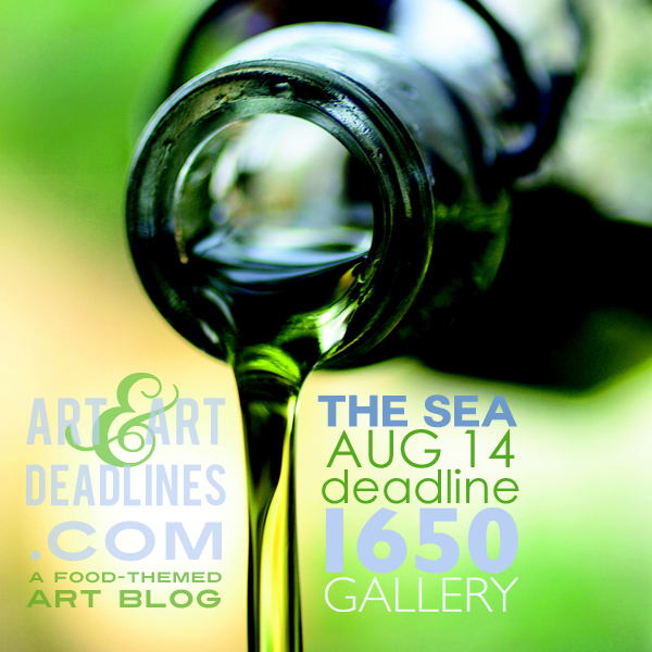 Learn more about The Sea exhibit from 1650 Gallery!