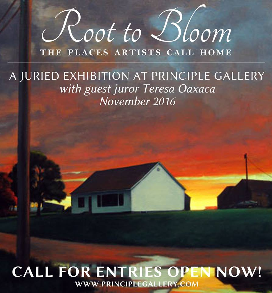Learn more about the Root to Bloom exhibit from the principle Gallery!