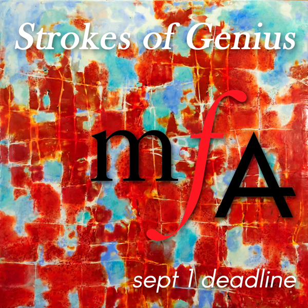 Learn more about the Strokes of Genius Exhibit at the Maryland Federation of Art!
