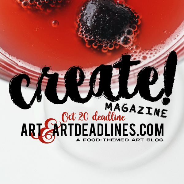 Learn more about the Inaugural Issue of Create! Magazine!