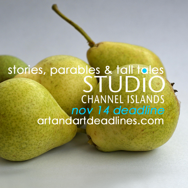 Learn more about the Stories, Parables & Tall Tales exhibit from Studio Channel Islands!