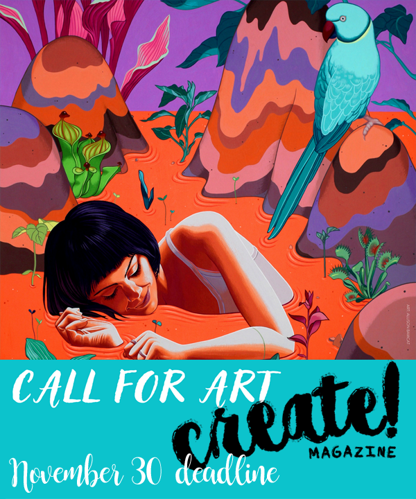 Learn more about the January Issue of Create! Magazine!