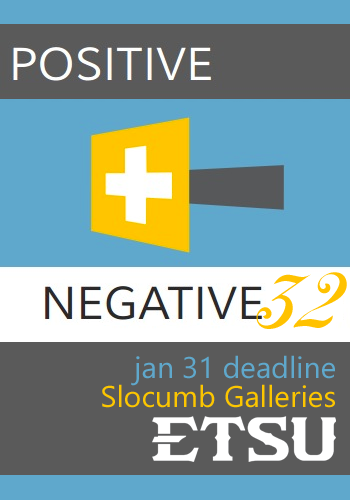 Learn more about Positive Negative 32 from the Slocumb Galleries at ETSU!