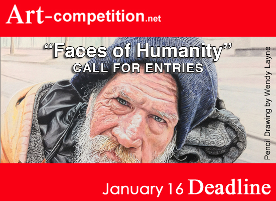 Learn more about the Faces of Humanity show from G25N and art-competiton.net!