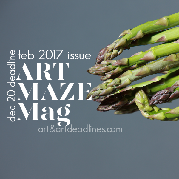 Learn more about the Feb 2017 Issue of ArtMaze Magazine!