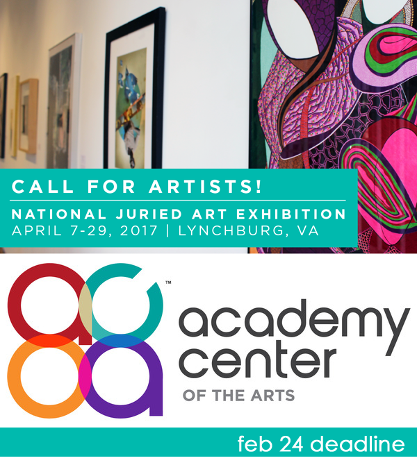 Learn more about the 2017 National Juried from the Academy Center of the Arts!