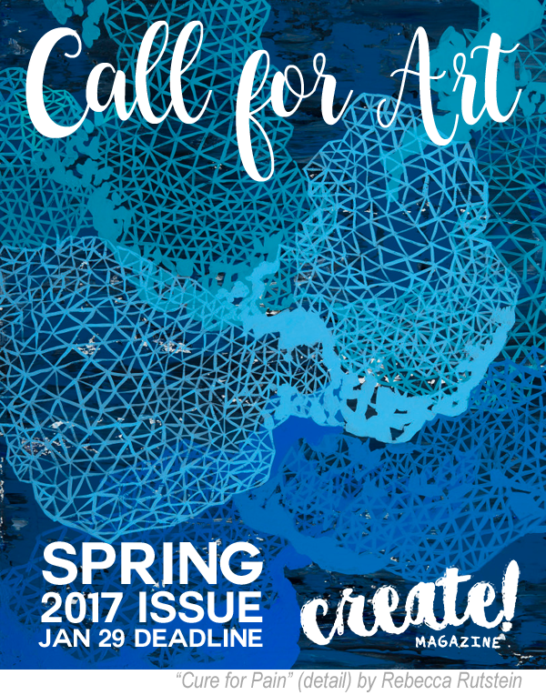 Learn more about the Spring 2017 Issue from Create Magazine!