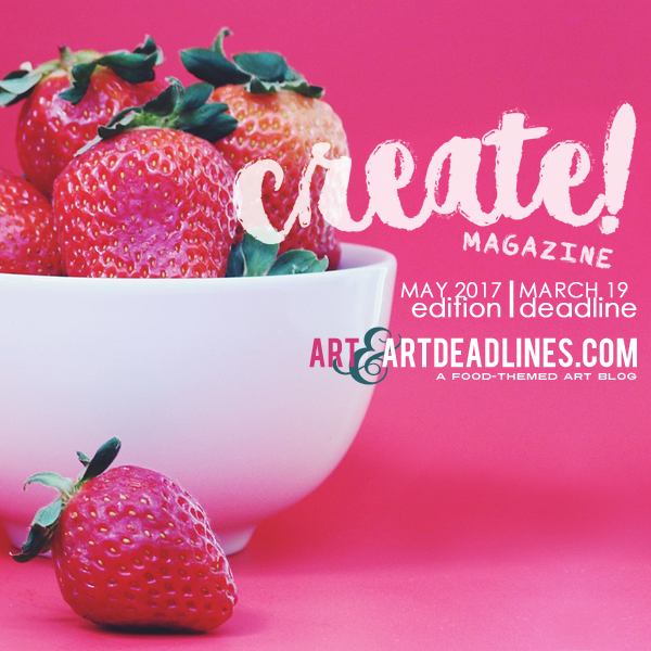 Learn more about the May 2017 International Print Edition from Create! Magazine