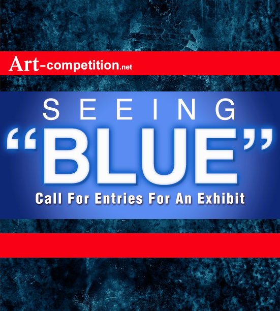 Learn more about the Seeing Blue exhibit from Art-competition.net!