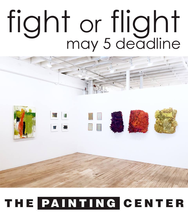 Learn more about the Fight or Flight exhibit from The Painting Center!