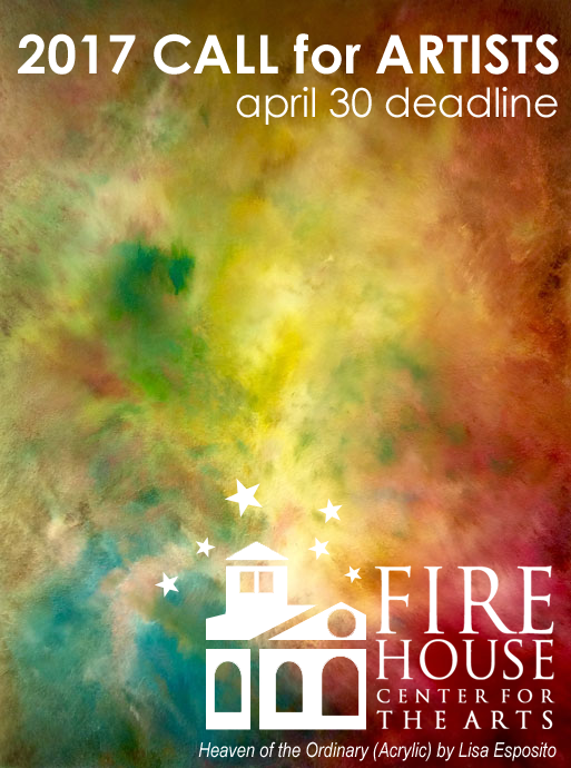 Learn more about the 2017 Call for Artists from the Firehouse Center for the Arts!