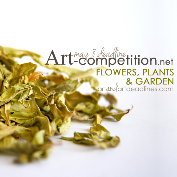 Learn more about the Flowers, Plants and Gardens exhibit from Art-competition net!